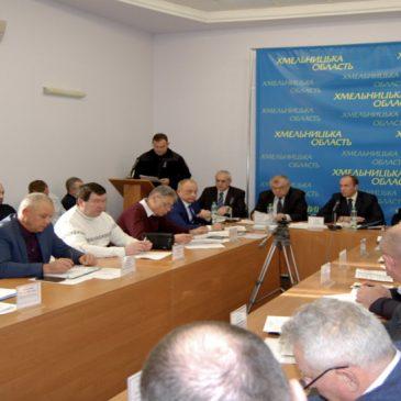 Проблеми водозабезпечення міста Полонне розглянуті на обласній комісії з питань ТЕБ та НС