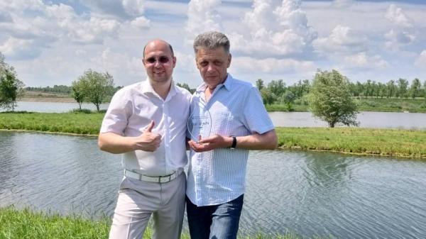 Вітаємо керівника з почесною нагородою V «Водного Оскару» Держводагентства!
